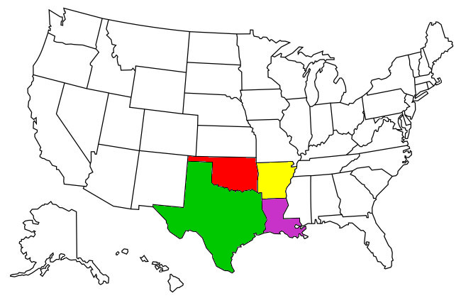 Natural Products and Supplements Distributed in Texas, Oklahoma, Arkansas, and Louisana
